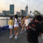 Korean girl band in Saigon